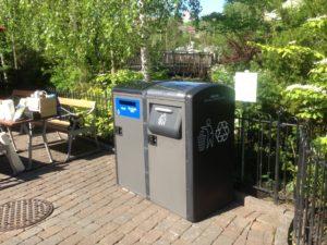 Liseberg er at teste miljømæssigt smart sophanteringssystemet BigBelly Sol