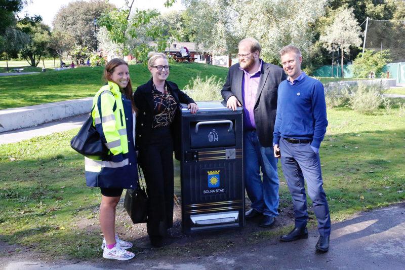 Solna Stad blir rent av smart 3