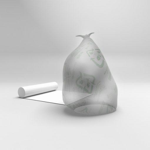 Miljösäck transparent pall 1