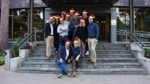 Ryhmä kuva joulu