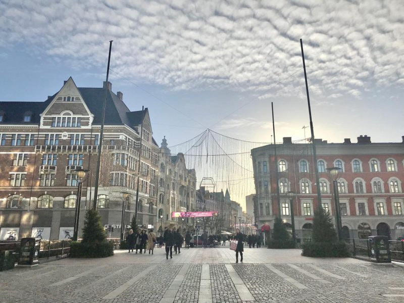 Malmö får nya moderna papperskorgar från Bigbelly 1
